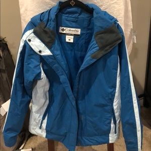 Large blue Columbia winter/ski jacket